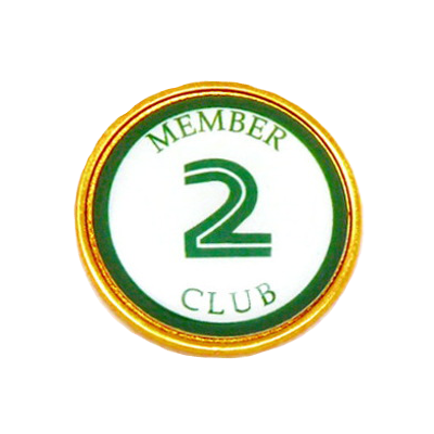 Golf Ball Marker, 2 ClubRL25-2CLUB