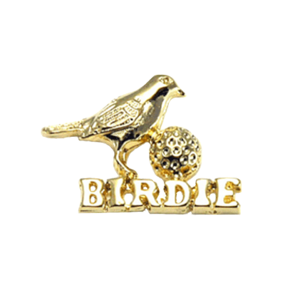 Birdie And Ball Golf Tac Pin1331TP