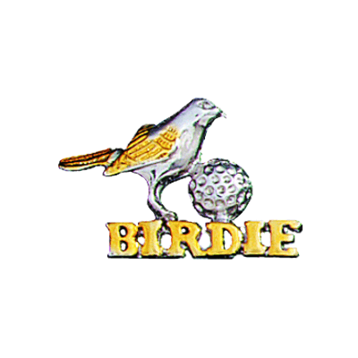 Clubhouse Birdie And Ball Tac PinBTP-121T