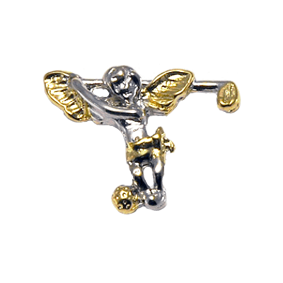 Clubhouse Golfing Angel Tac Pin