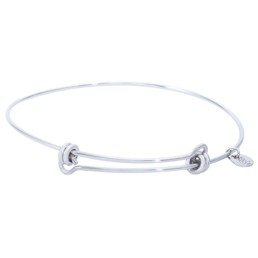 Expandable Bangle Bracelet, Sterling Silver -Balanced458S