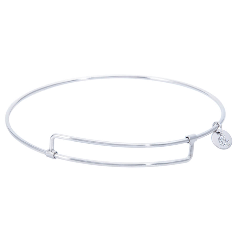 Expandable Bangle Bracelet, Sterling Silver -Pure457S