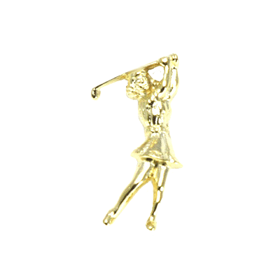 Golf Lady Tac Pin