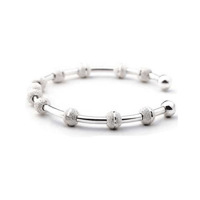 Golf Bracelet, Sterling Silver-Count Me Healthy439GG