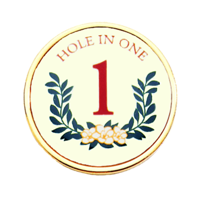 Golf Ball Marker, Hole In OneRL25-HOLE in ONE