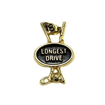 Longest Drive Golf Tac Pin - Clubhouse1387TP