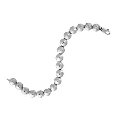 Tennis Ball Bracelet, Sterling Silver455S