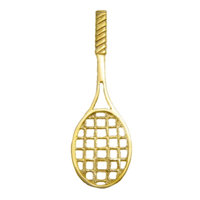 Tennis Racquet 14K GoldT04