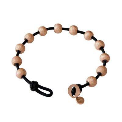 Wrap Bracelet-Black & Rose GoldWB-Black & Rose Gold