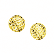 Gold Golf Earrings