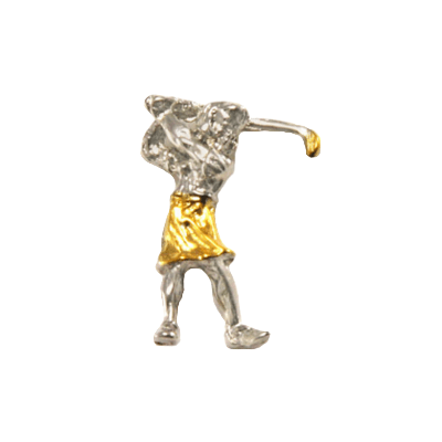 Clubhouse Lady Golfer Tac Pin
