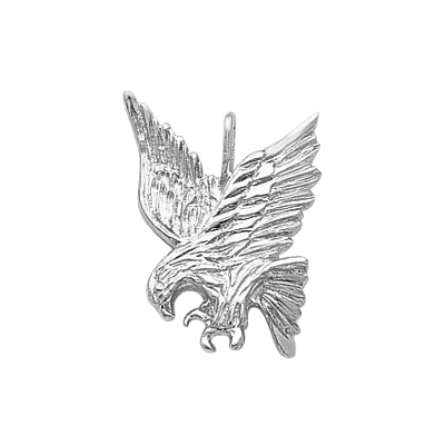 Eagle Golf Charm, Sterling Silver