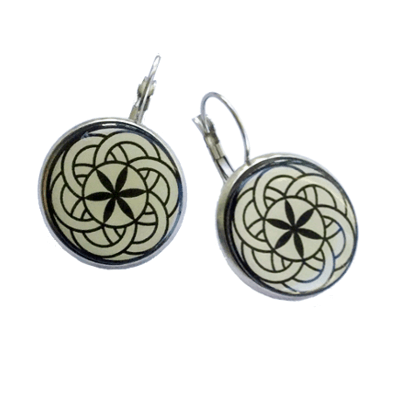 Golf Ball Marker Earrings