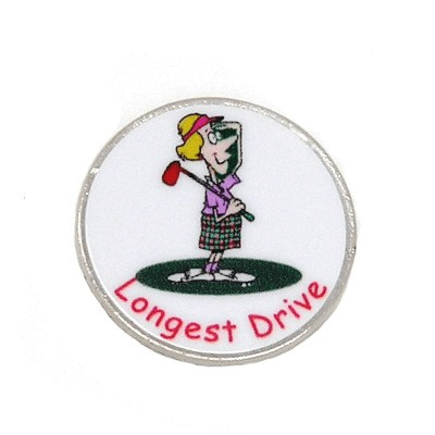 Magnetic ball marker Silver, Longest Drive