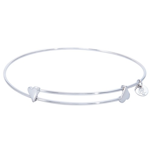 Sweet - Sterling Silver Expandable Bangle Bracelet